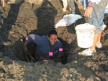 Asmeret sampling soil